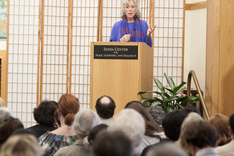 Virginia Benson at 2011 Ikeda Forum