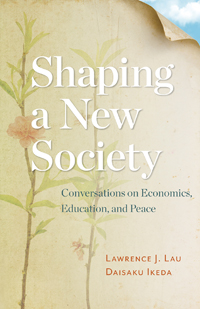 Shaping a New Society Cover