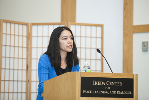 Patterson at 2010 Ikeda Forum