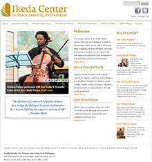 NEW Ikeda Center Website